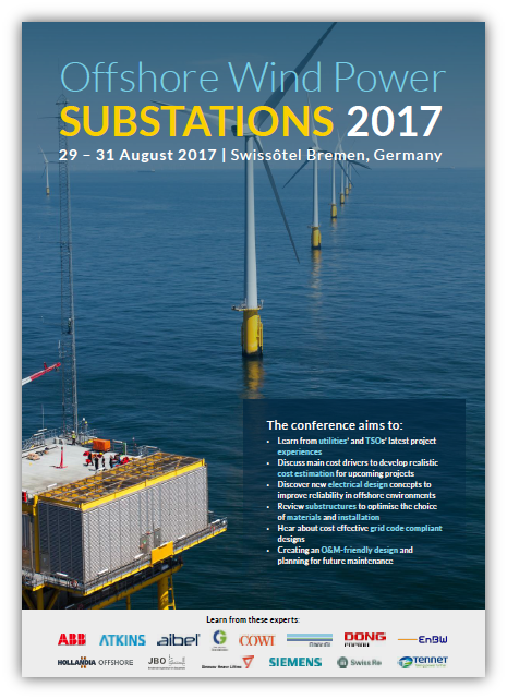 Offshore Substations 2017 Agenda