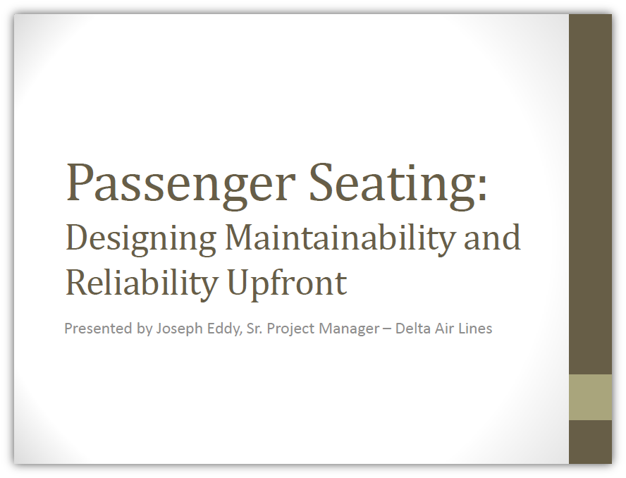 Designing Maintainability and Reliability Upfront