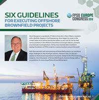 Six Guidelines for Executing Offshore Brownfield Projects