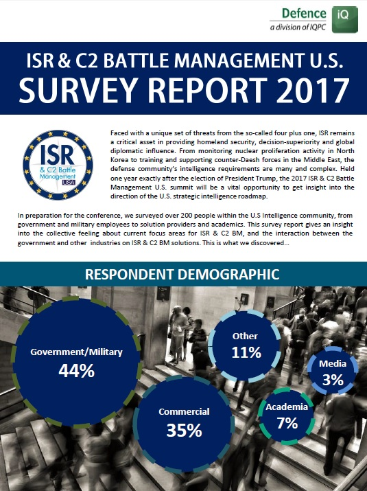ISR & C2 Battle Management Survey Report 2017
