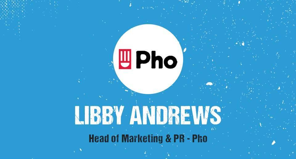 Libby Andrews, Head of Marketing & PR - Ph