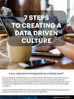 7 Steps to Creating a Data-Driven Culture