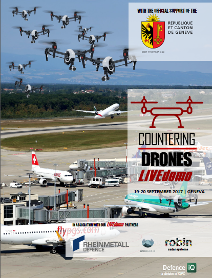 Countering Drones LIVEdemo - A Welcome from The Department of Security and Economy, Republic and Canton of Geneva