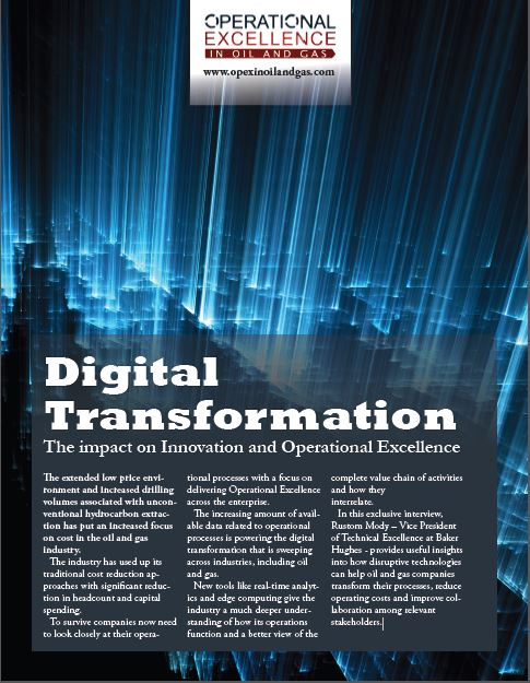Digital Transformation in Oil and Gas: The Baker Hughes Story
