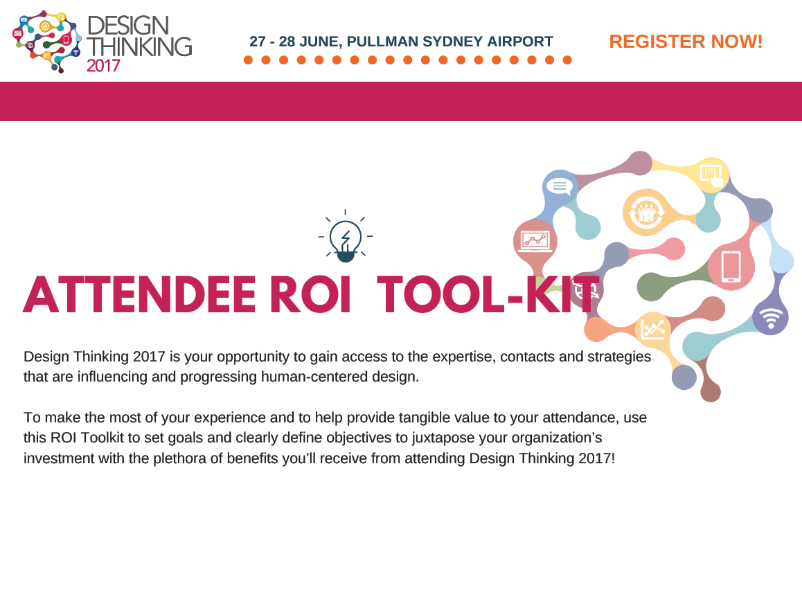 Design Thinking Attendee ROI Tool-Kit