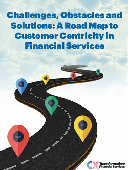 Challenges, Obstacles and Solutions: A Road Map to Customer Centricity in Financial Services
