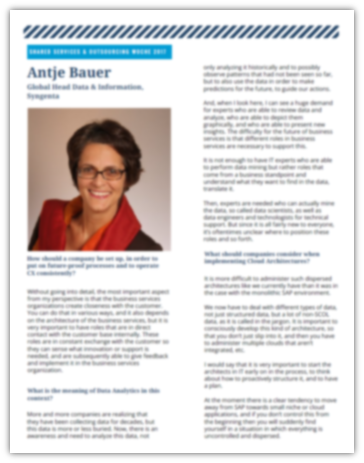 Interview with Antje Bauer