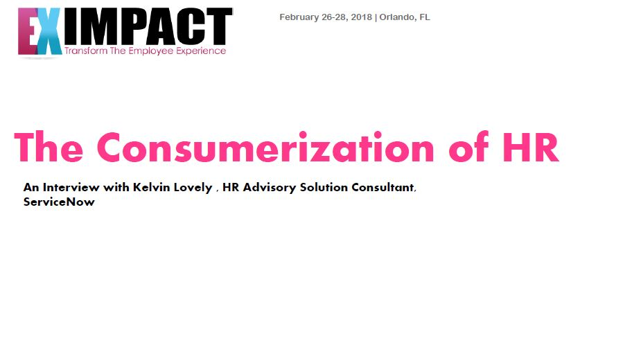 The Consumerization of HR