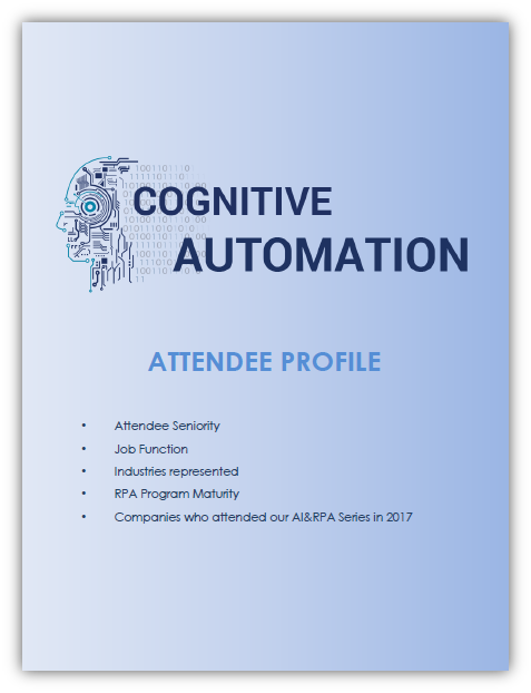 Cognitive Automation Attendee Profile