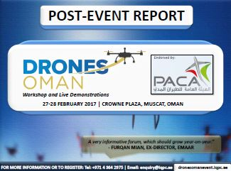 Post-Event Report: Drones Oman 2017