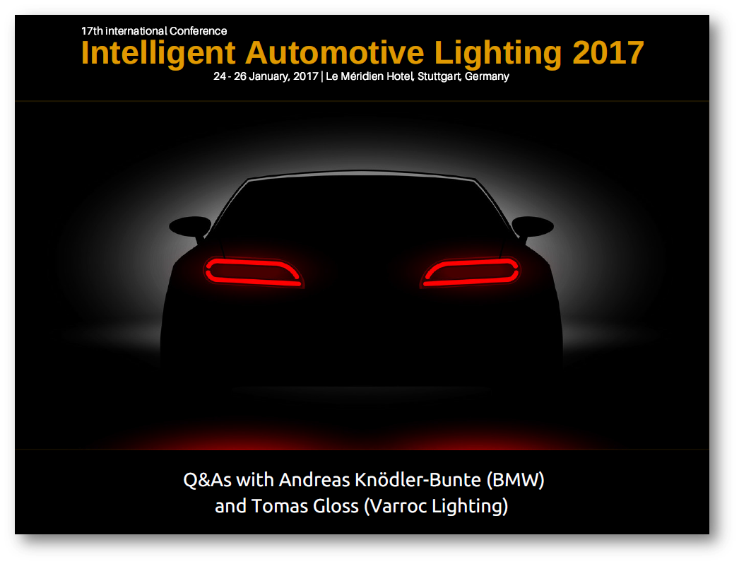 BMW discusses the future of LED, OLED and Laser automotive lighting