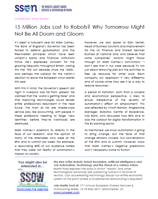 15 Million Jobs Lost to Robots? Why Tomorrow Might Not Be All Doom and Gloom