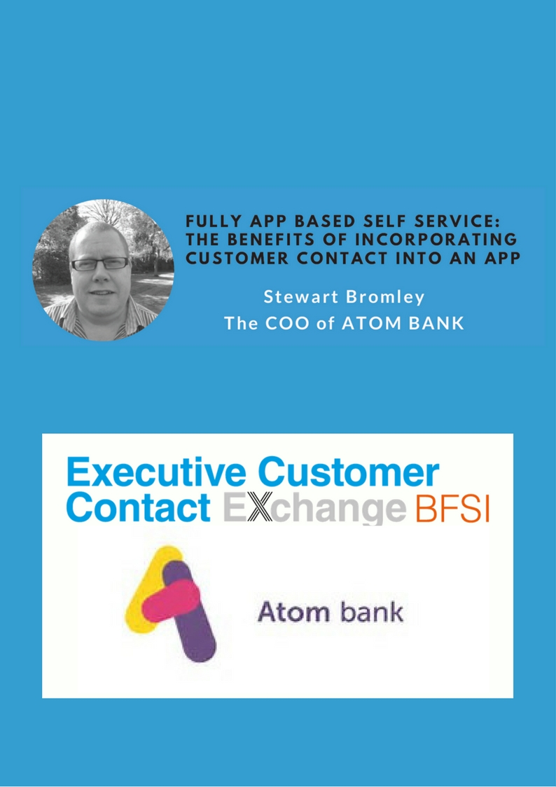 Fully App Based Self Service: The benefits of Incorporating Customer Contact Into an App