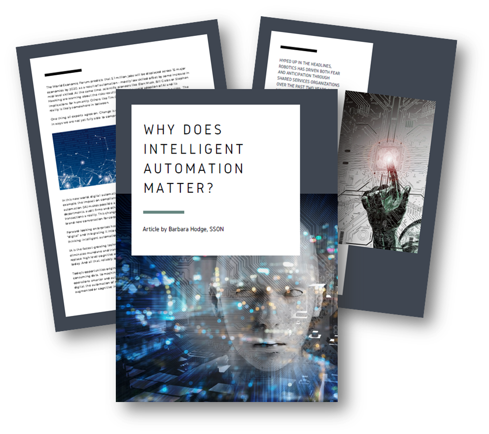 Why does Intelligent Automation matter right now?
