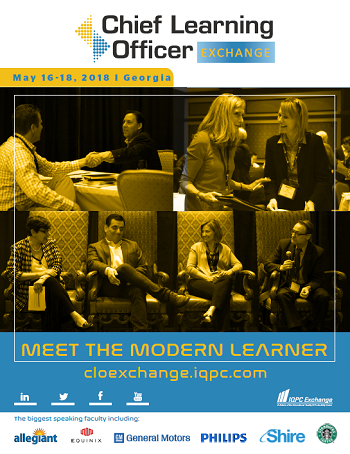 Download the Chief Learning Officer Exchange 2018 Agenda