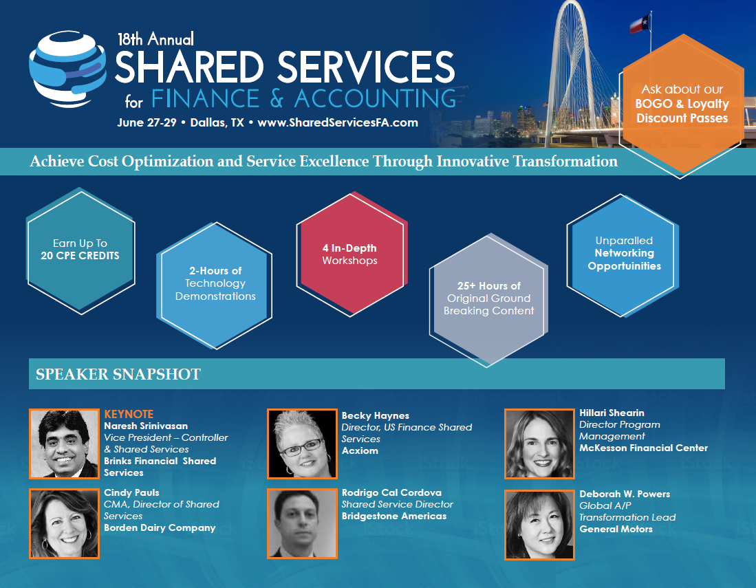 Shared Services F&A 2018 Brochure
