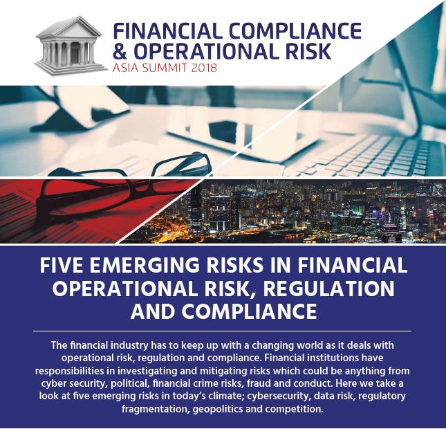 Five Emerging Risks in Regulation and Compliance