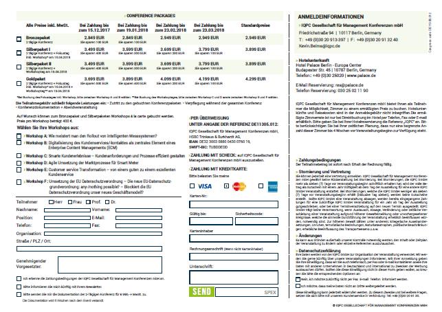 Anmeldeformular herunterladen & direkt ausfüllen