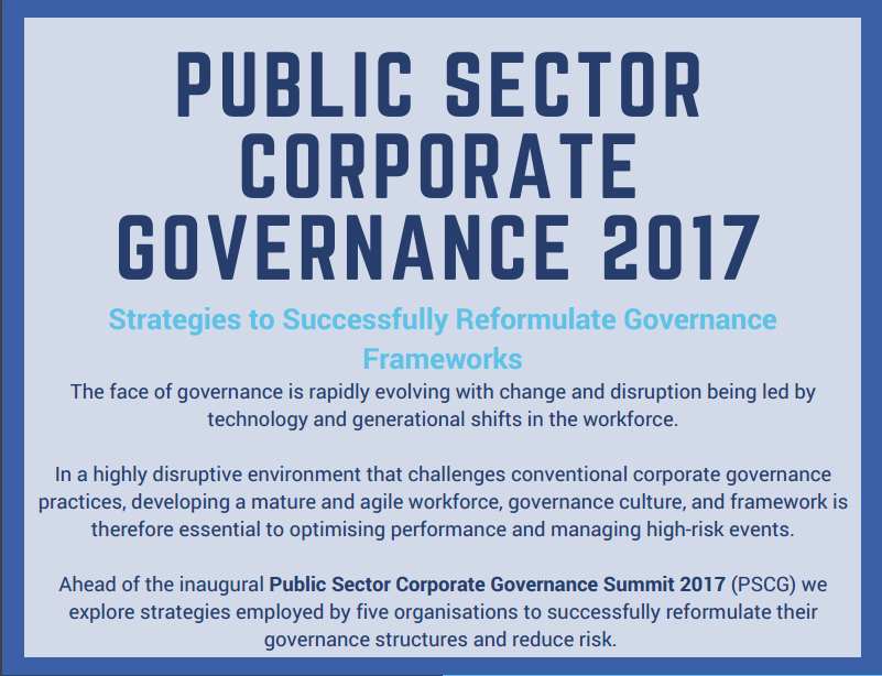 Strategies to Successfully Reformulate Governance Frameworks