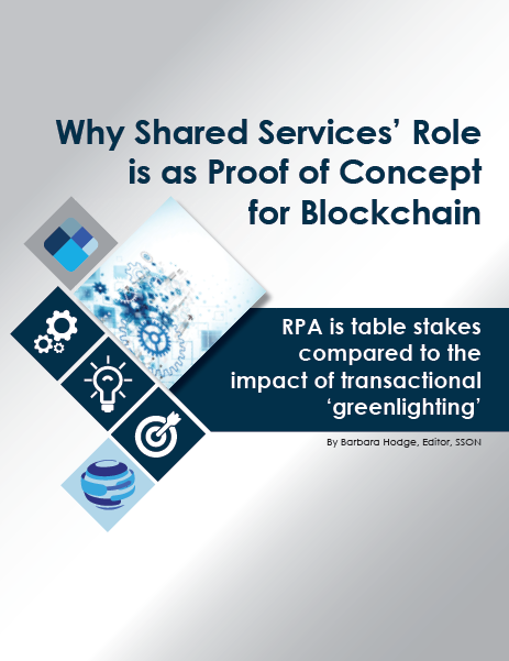 Why Shared Services' Role is a Proof of Concept for Blockchain