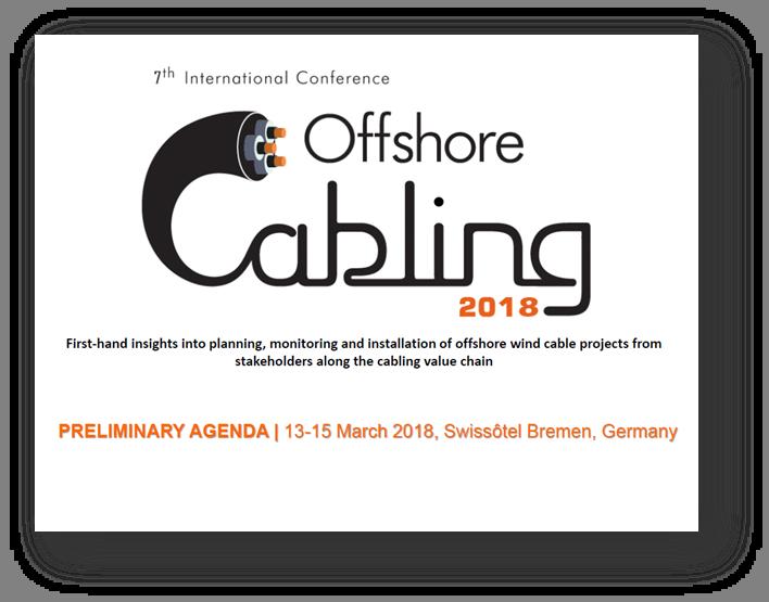 Offshore Cabling 2018 Agenda