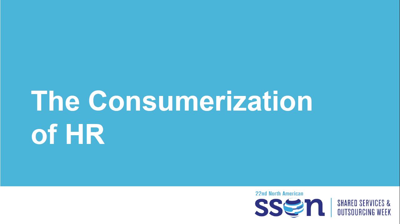 The Consumerization of HR E-Book
