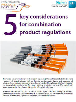 5 Key Considerations For Combination Product Regulations