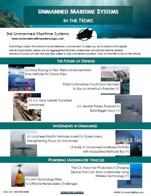 Unmanned Maritime Systems in the News