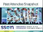 Past Attendee Snapshot - 2018 Edition