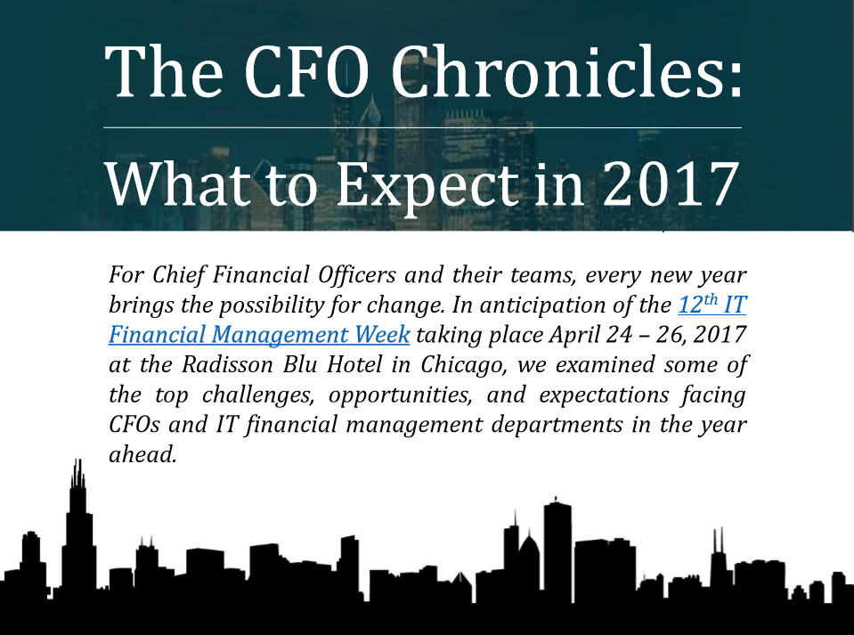 The CFO Chronicles: Challenges, Opportunities & Expectations