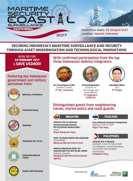 Maritime Security & Coastal Surveillance Indonesia 2017 Brochure