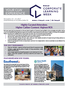 Your CLW Experience!