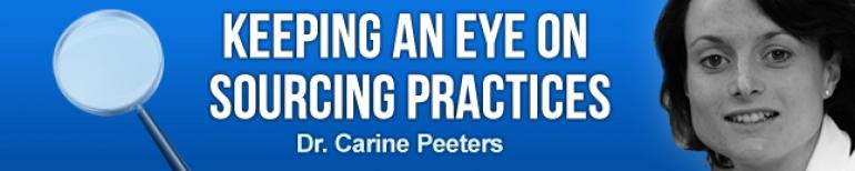 Dr. Carine Peeters: Keeping an eye on sourcing practices