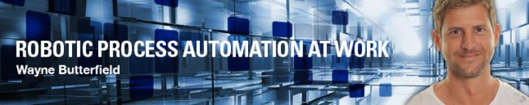 Robotic Process Automation at Work