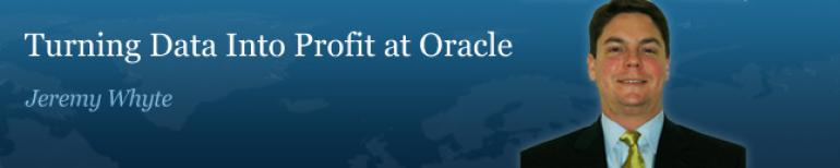 Turning Data into Profit the Oracle Way
