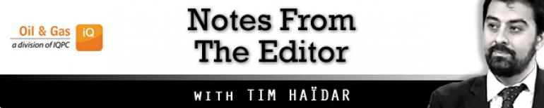 Notes From The Editor