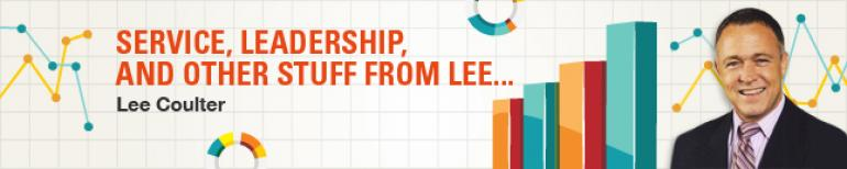 Service, Leadership, and Other Stuff From Lee