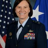 Major General Sara  Zabel USAF