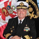 Rear Admiral Herbert José  Del Alamo Carrillo