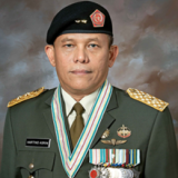 Major General Hartind  Asrin, M.I.Kom