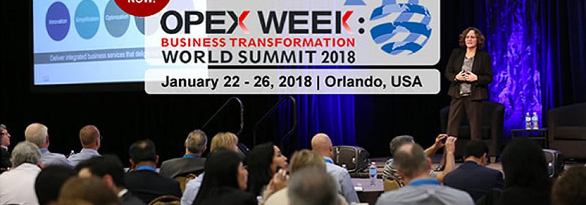 OPEX Week: Business Transformation World Summit