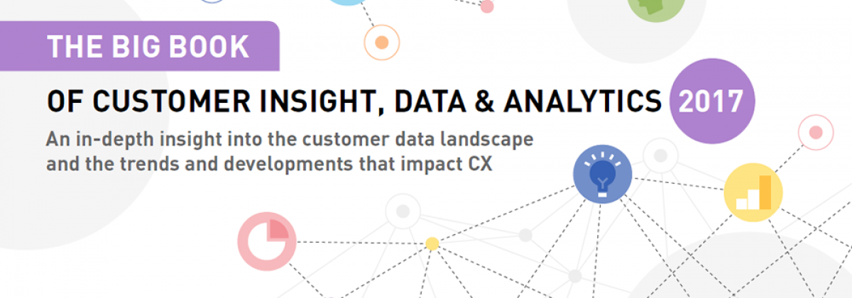 The big book of customer insight, data & analytics 2017
