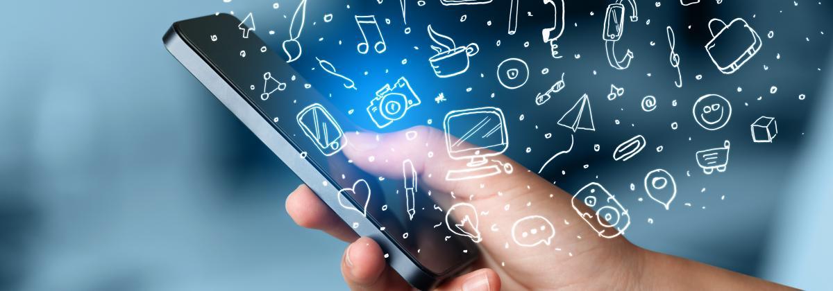 5 Mobile Apps Carousel