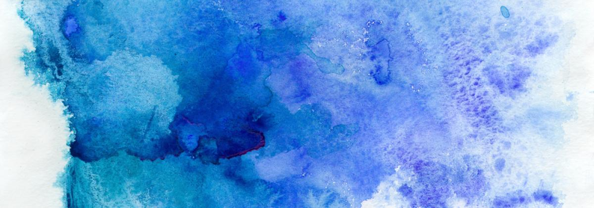 Water Color Blue