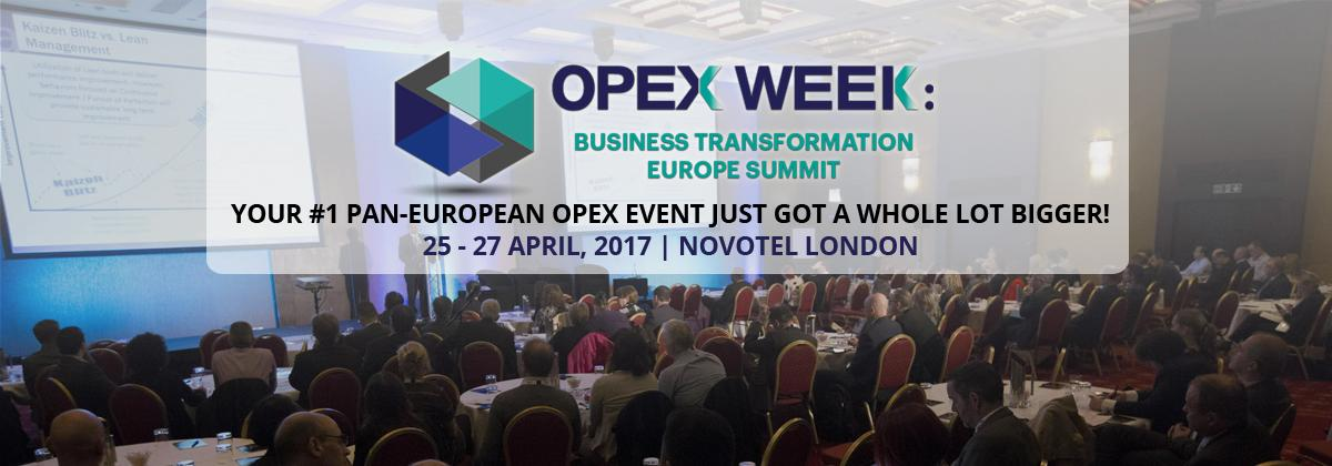 OPEX Week: Business Transformation Europe Summit 2017