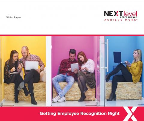Getting Employee Recognition Right cover