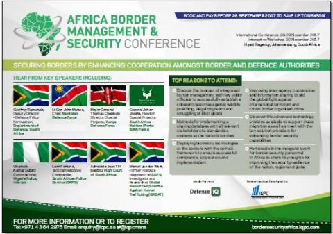 Agenda - Africa Border Management & Security Conference