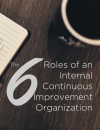 The Six Roles of an Internal Continuous Improvement Organization