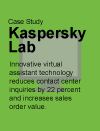 Case Study: Kaspersky Lab Drives Customer Engagement Across Sales and Service
