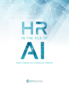 Cover for a whitepaper about the impact that AI is having on human resource departments